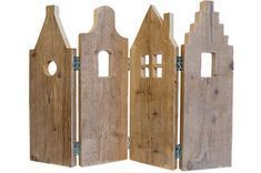 diy holz Window decoration Old dutch facades- Fensterdekoration Alte hollndische Fassaden Window decoration Old Dutch facades, - Decoration Facade, Wood Projects, Woodworking Projects, Thema Deco, Driftwood Art, Miniature Houses, Wooden Crafts, Little Houses, House In The Woods