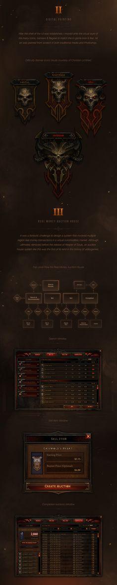 Diablo III UI Art & Design 2