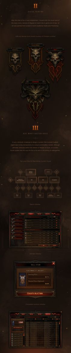 Diablo III UI Art & Design 2