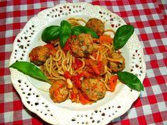 Małomiasteczkowa Pani Domu : Spaghetti a`la bolongese - lżejsza wersja