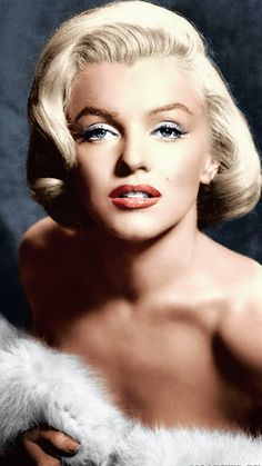 Marilyn by Frank Powolny;1952 {Colorized Image}