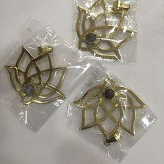 #lotus_flower #pendant #original_design #brass #jemstone #jems #somethingfrimindia #רוצים_משהו_מהודו  My new design of lotus, on its way....