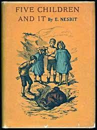 Resultado de imagen de Cinco niños y eso, de Edith Nesbit