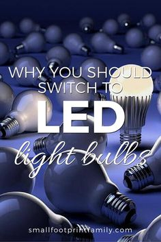 The benefits of LED light bulbs are important for your household budget, as well as for the quality of our air and water, and the protection of the nation. Natural Living, Simple Living, Green School, Green Living Tips, Cleaners Homemade, Energy Efficiency, Save Energy, How To Find Out, Natural Health