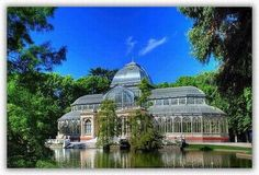 The Arganzuela Gl Palace In Madrid Has Been Rebuilt As A Greenhouse To Protect Wide