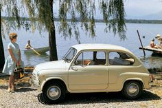 Images of Fiat 600 - Free pictures of Fiat 600 for your desktop. HD wallpaper for backgrounds Fiat 600 car tuning Fiat 600 and concept car Fiat 600 wallpapers. Fiat 600, Maserati, Good Looking Cars, Fiat Cars, Go Car, Fiat Abarth, Cute Cars, Car In The World, Small Cars