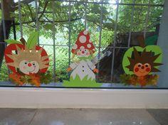 papírová výzdoba oken mš podzim - Safer Browser Yahoo Image Search Results
