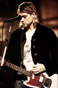 Nirvana, Kurt Cobain. One of the greatest of my time.