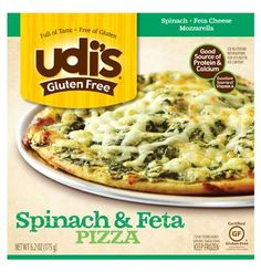 Several New @Udi's Gluten Free Foods products: pizza, muffins, and bagels #gluten free