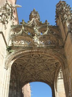 Porche de la cathédrale Sainte-Cécile à Albi, Tarn, France