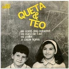 Queta & Teo - Es Coret Des Cotxetet +3 (1964) https://youtu.be/cwOxz0Tt5YY