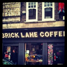 Brick Lane Coffee, Shoreditch. #oldstnewcoffee #oldstnewrules