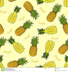 pineapple vector - Google zoeken
