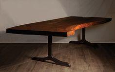 Clara walnut table