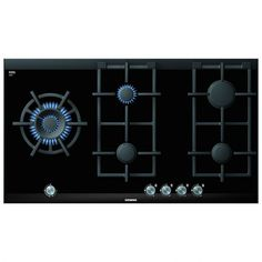 SIEMENS - - Extra wide gas hob with wok burner