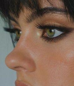 Edgy Makeup, Makeup Eye Looks, Eye Makeup Art, Prom Makeup, Cute Makeup, Pretty Makeup, Skin Makeup, Makeup Inspo, Makeup Inspiration