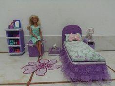 Tutorial Barbie - Como fazer um Sofá para BARBIE, MONSTER HIGH e EVER AFTER HIGH - YouTube