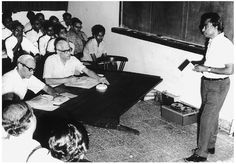 1980s :: Scientist A.P.J. Abdul Kalam Teaching at ISRO