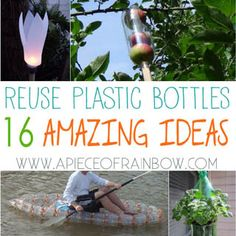 You may never look at plastic bottles the same way again! 16 ingenious ways to reuse plastic bottles to make amazing useful things for our home and garden! Herb Garden In Kitchen, Garden Pots, Home And Garden, Vegetable Garden, Regrow Vegetables, Winter Planter, Reuse Plastic Bottles, Cold Frame, Diy Greenhouse
