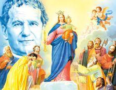 Mimoriadny deviatnik k Panne Márii Pomocnici Recital, Amen, Prayers, Princess Zelda, Marvel, Christian, Fictional Characters, 3, Saints