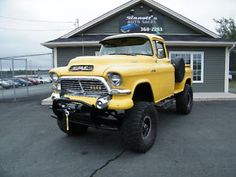 "1957 GMC 4x4 LIFTED ON 38"" TIRES St. John's Newfoundland image 1"