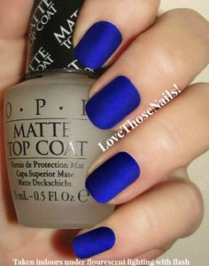 BPR bleu roi mat manucure BPR St. Marks The par LoveThoseNails