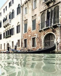 #Venice#Venezia [#thisisVenice] : Hello again Mr Gondolier!Photo and words…