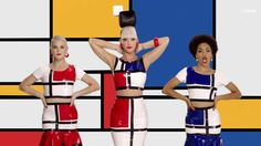 Katy Perry Channels Piet Mondrian in New Music Video Piet Mondrian, Mondrian Dress, Sonia Delaunay, Do Video, Foto E Video, Video Image, Celebrity Pictures, Celebrity News, Katy Perry Gif