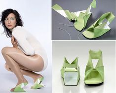 Another 12 of the Weirdest Shoes Ever (weird shoes, strange shoes) - ODDEE