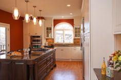 Bold Living Minnesota Spacial Adaptation Inc Michelle Drenckhahn #kitchen #white #contrast #island #tradition
