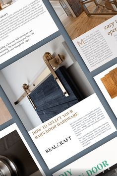 Download our FREE Barn Door Design Guide and Learn Everything you need to know before buying a sliding barn door. Carriage Doors, Barn Door Designs, Indoor, Learning, Storage, Wood, Free, Home Decor, Interior