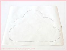 Cloud Pillow Tutorial » Lolly Jane