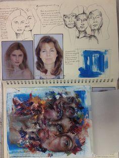 Emma P unit 4 sketchbook A Level Art Sketchbook, Sketchbook Layout, Textiles Sketchbook, Sketchbook Inspiration, Sketchbook Ideas, Art Alevel, Art Folder, High Art, Grafik Design