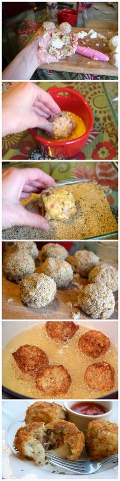Italian Rice Balls ~ Don't Eat Them All