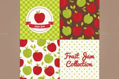Apple jam by miumiu on Creative Market
