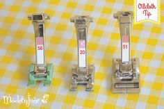 These 3 BERNINA presser feet can help you sew oilcloth, vinyl and leather.