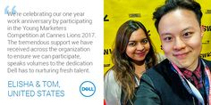 Landing your first job with Dell. Lions International, International Festival, Work Anniversary, First Job, Career Opportunities, The Marketing, What Is Life About, Cannes, Competition