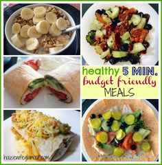 Quick + Healthy Budget Friendly Meals. (5 minutes or less) #FitFluential