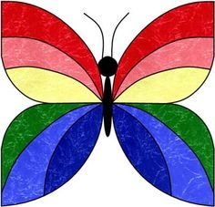 FREE BUTTERFLY STAINED GLASS PATTERNS   Lena Patterns