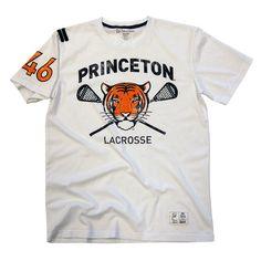 Vintage Princeton University Lacrosse Ivy League Jersey.    #lacrosse #vintage #princeton university #the tailored scholar #ivy league