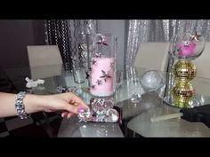 How to make Pozole Verde Dollar Tree Centerpieces, Rose Centerpieces, Elegant Centerpieces, Christmas Centerpieces, Dollar Tree Gifts, Dollar Tree Decor, Dollar Tree Christmas, Christmas Crafts, Dollar Tree Mirrors