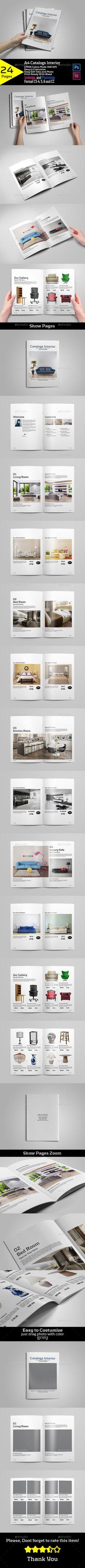 A4 Catalogs Interior