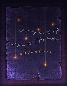 Harry Potter Quote  Let us step into the night by LuckySkye, $18.00