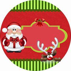 Dulce Santa: Mini Kit para Navidad para Imprimir Gratis. | Ideas y material gratis para fiestas y celebraciones Oh My Fiesta!