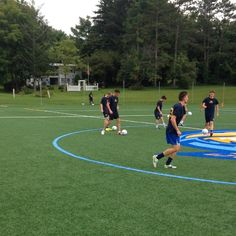 Fall sports are back!! Men's soccer takes the field early this morning in preparation for their first game on August 29 #caznation #cazwildcats #cazsoccer