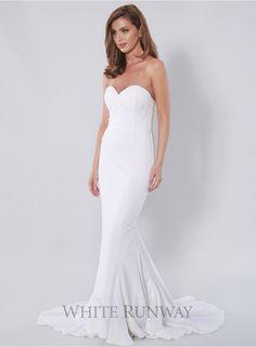 07a3b243b6f2 Cassandra Dress  dreamwedding  whiterunway White Bridesmaid Dresses