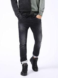 THAVAR SP JOGGJEANS 0856S, Black Jeans Jogg Jeans, Diesel Jeans, Black And Grey, Black Jeans, Skinny, Pants, Fashion, Trouser Pants, Moda
