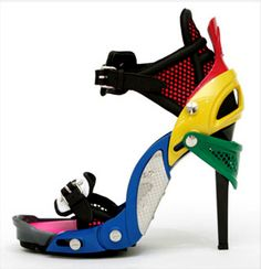 crazy shoes heels | welcome to...: High Tech Heels