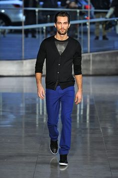 the jeans for men; 'Russell in Lagoon'