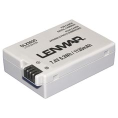 LENMAR DLZ302C Canon(R) LP-E8 Digital Camera Replacement Battery